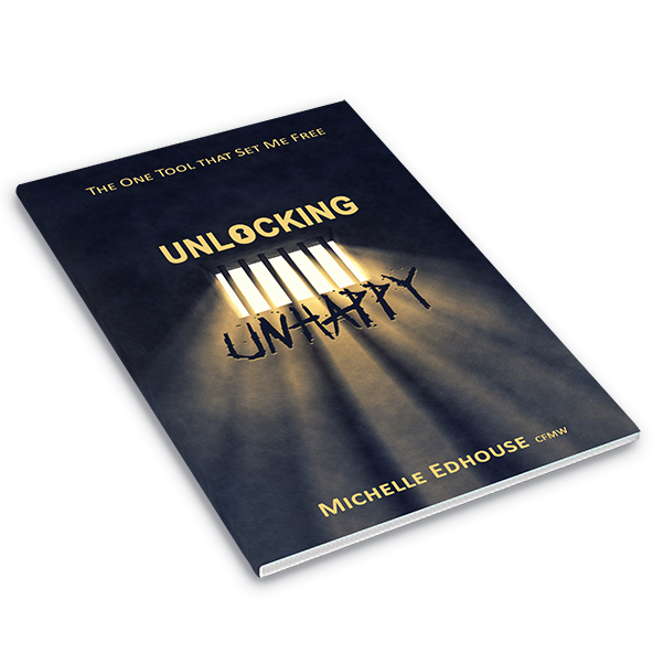 Unlocking Unhappy book by Michelle Edhouse