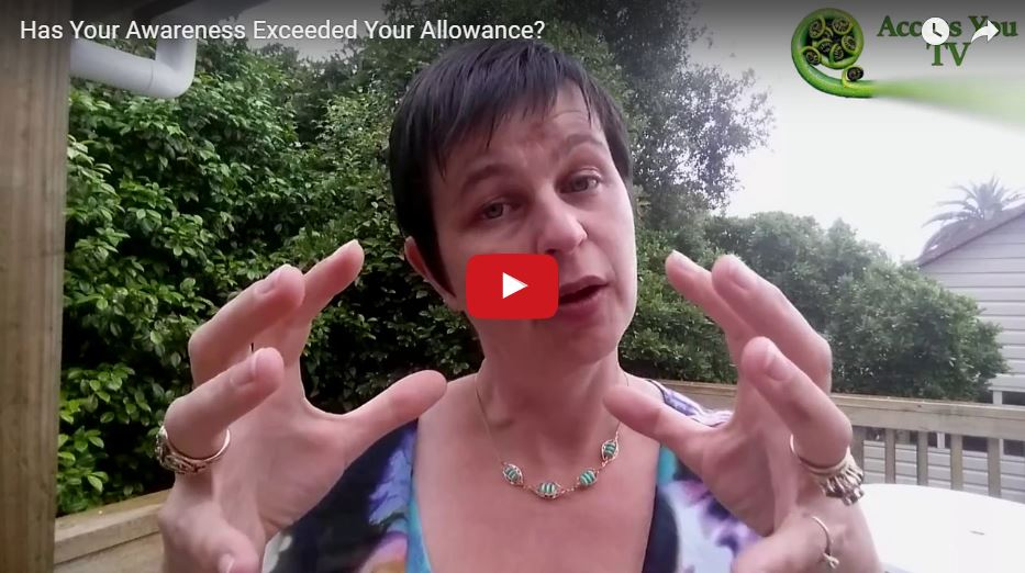 Has Your Awareness Exceeded Your Allowance?