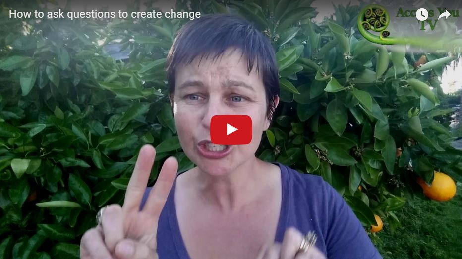 How to ask questions to create change