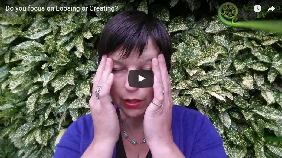 Do you focus on Loosing or Creating?