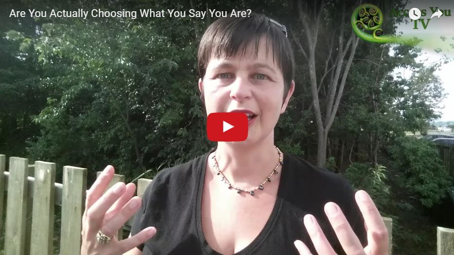 Are You Actually Choosing  What You Say You Are?