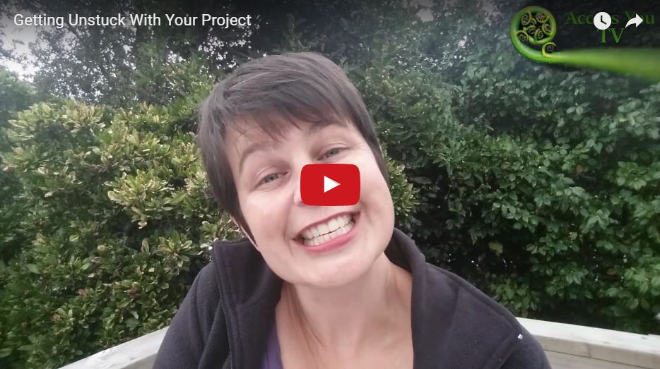 Getting Unstuck With Your Project