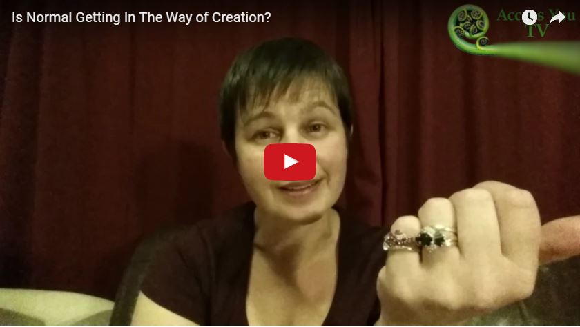 Is Normal Getting In The Way of Creation?
