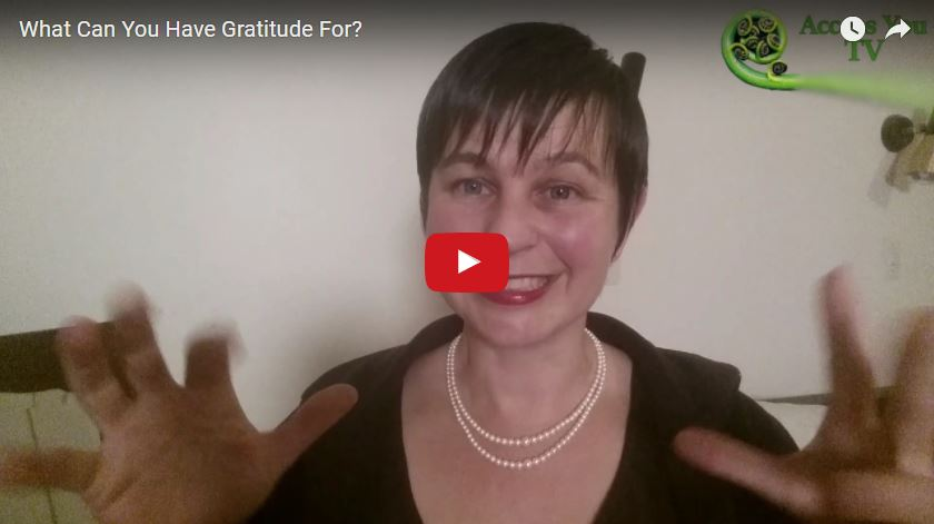 What Can You Have Gratitude For?