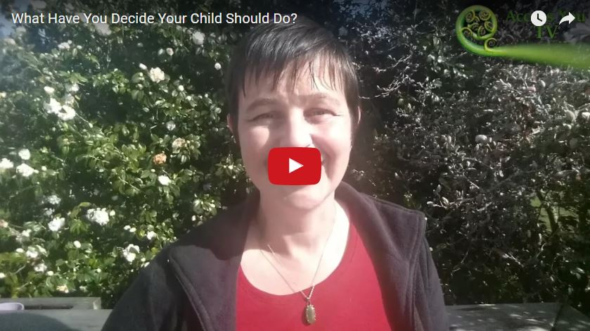 What Have You Decide Your Child Should Do?