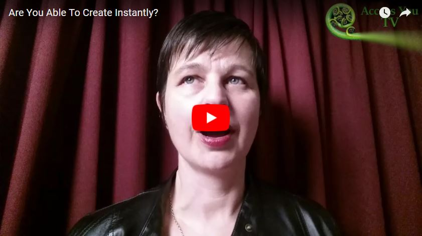 Are You Able To Create Instantly?