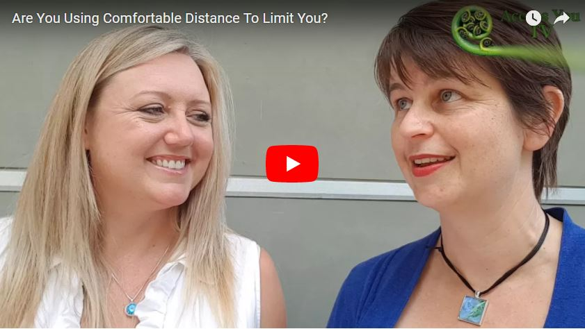 Are You Using Comfortable Distance To Limit You?