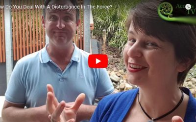 How Do You Deal With  A Disturbance In The Force?