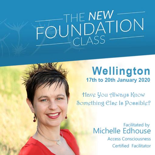 Access Consciousness Foundation Wellington NZ 2020